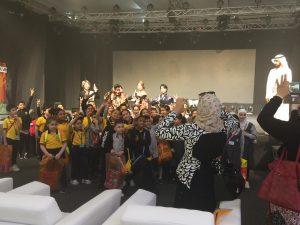 忍者ショー_中東_UAE5
