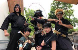 忍者ショーinベトナム01